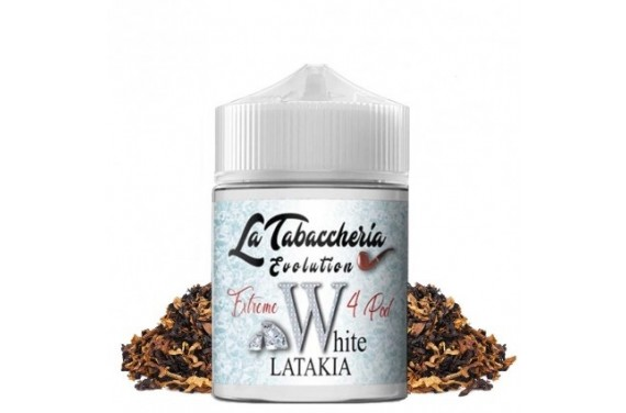 WHITE LATAKIA 4POD 20 ML