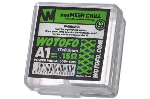 NEXMESH  CHILL  0.15 OHM 10 PZ